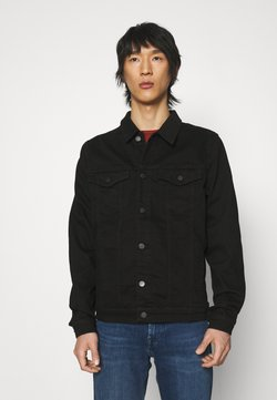 7 for all mankind - PERFECT LUXE PERFORMANCE - Denim jacket - rinse black