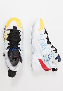 Jordan - WHY NOT ZER0.3 SE UNISEX - Basketbalschoenen - white/university red/black/hyper blue/lightening/blue glow