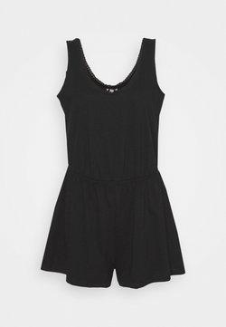edc by Esprit - SLUB CROCHE - Combinaison - black