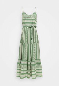 Vero Moda - VMDICTHE SINGLET ANCLE DRESS - Vestido largo - dark ivy/birch