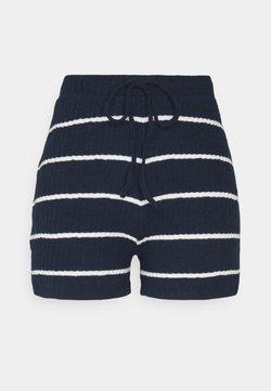 ONLY - ONLCARLA - Shorts - navy/cloud dancer