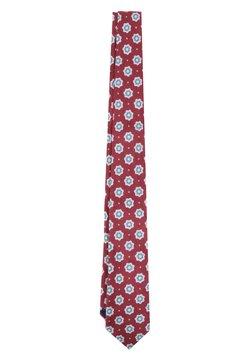 Scalpers - FLOWERS - Krawatte - burgundy