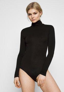 Marks & Spencer London - HEATGEN POLO - Body - black