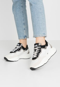 HUB - ROCK - Sneakers laag - offwhite/cheetah/black