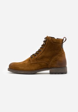 Marc O'Polo - LACE UP BOOT - Veterboots - cognac