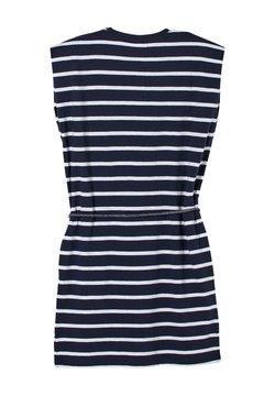 s.Oliver - ROBE À MOTIF RAYÉ - Jerseykleid - dark blue stripes