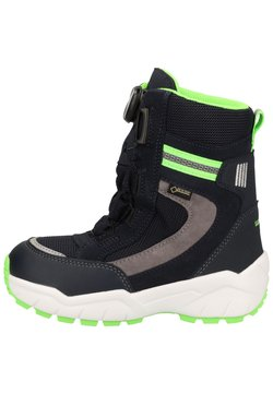 Superfit - Snowboot/Winterstiefel - blau/grün