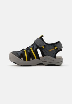 Geox - JR KYLE - Trekkingsandale - grey/yellow