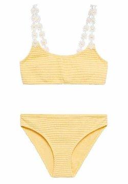 Mango - RITA - Bikini - jaune pastel