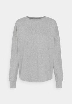 NU-IN - OPEN BACK - Sweater - light grey marl