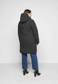 Ragwear Plus - GORDON LONG PLUS - Wintermantel - black
