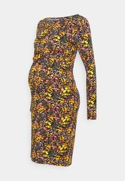 MAMALICIOUS - MLBETSY DRESS - Etuikleid - navy blazer