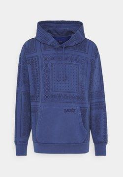 Levi's® - BANDANA POP OVER HOODIE UNISEX - Sweatshirt - blues