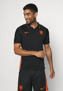 Nike Performance - NIEDERLANDE KNVB AWAY - Equipación de selecciones - black/safety orange