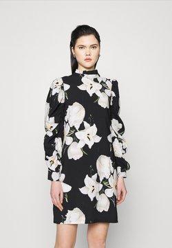 Object - OBJCASANDRA SHORT DRESS  - Freizeitkleid - black