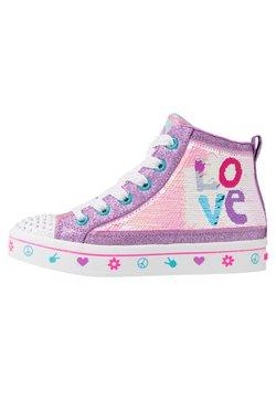 Skechers - FLIP-KICKS LOVE REVERSIBLE SEQUINS - Sneaker high - lavender durasatin/multicolor sparkle