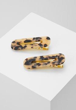 Valet Studio - GRETA 2 PACK - Haar-Styling-Accessoires - beige/black/dark brown