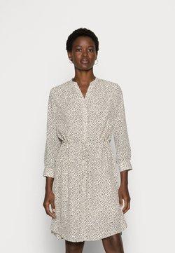 Selected Femme - SFDAMINA DRESS  - Blusenkleid - sandshell