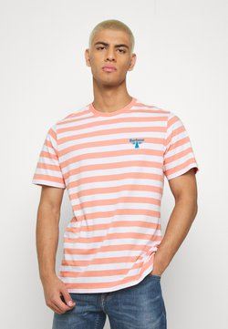 Barbour Beacon - BOW STRIPE TEE - T-shirt print - burnt coral