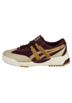 Onitsuka Tiger - DELEGATION EX - Sneaker low - deep mars/tan presidio