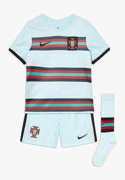 Nike Performance - PORTUGAL FPF LK NK BRT KIT AW SET - Urheilushortsit - teal tint/black
