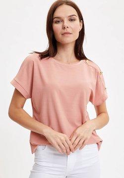 DeFacto - T-shirts basic - pink