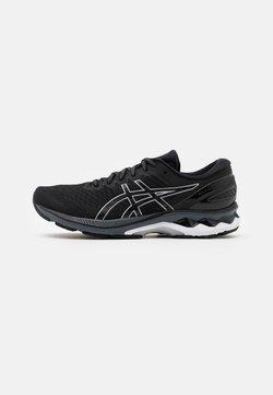 ASICS - GEL KAYANO 27 - Obuwie do biegania Stabilność - black/pure silver