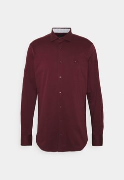 Tommy Hilfiger Tailored - SOLID SLIM SHIRT - Businesshemd - deep rouge/white