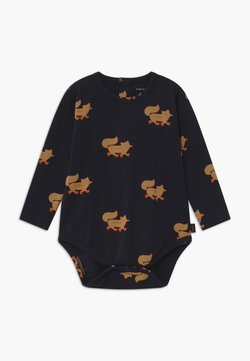 TINYCOTTONS - FOXES - Body - navy/camel