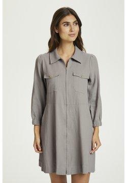 Part Two - Vestido camisero - flint gray