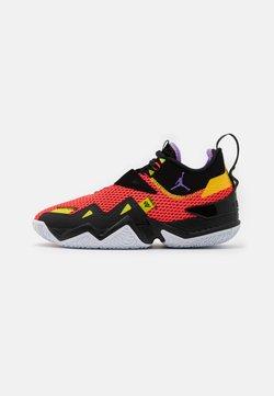 Jordan - WESTBROOK ONE TAKE - Chaussures de basket - bright crimson/atomic violet/black/amarillo/bright cactus/white