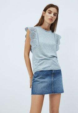 Pepe Jeans - CLARA - Camiseta estampada - blue/grey
