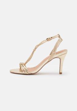 Wallis - PHYLLIS - Sandalen met hoge hak - gold