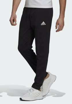 adidas Performance - ESSENTIALS TAPERED JOGGERS - Jogginghose - black
