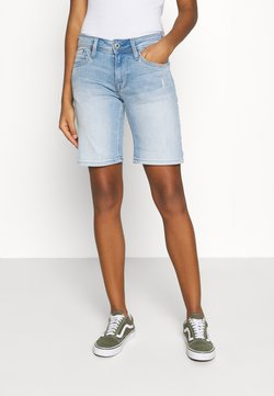 Pepe Jeans - POPPY - Jeans Shorts - denim