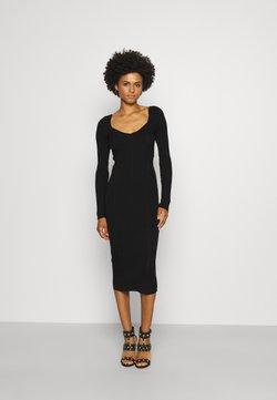 Patrizia Pepe - DRESS - Vestido de punto - nero
