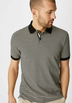 C&A - Poloshirt - black / beige