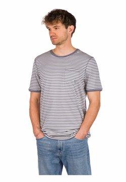 Kazane - ARVID  - T-Shirt print - folkstone gray/white