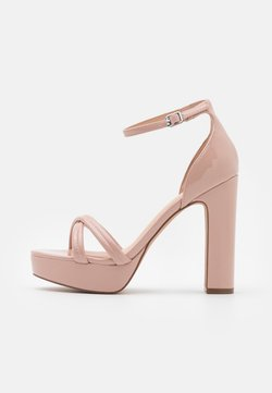 Even&Odd - Sandalen met plateauzool - light pink