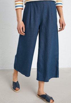 SEASALT - SPRING TIDE CULOTTES - Flared Jeans - dark blue