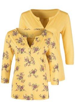 LASCANA - 2 PACK - Bluse - gelb