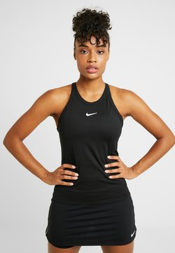 Nike Performance - DRY TANK - Funktionsshirt - black/white