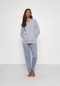 Schiesser - Pyjama - hellblau