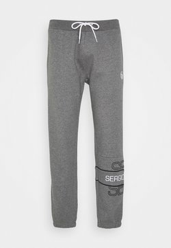 sergio tacchini - BLINK PANTS - Trainingsbroek - darkgreymelange/black