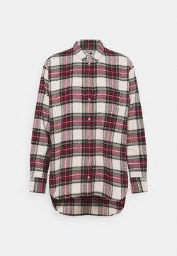 Madewell - HOLIDAY PLAID - Bluse - red