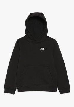 Nike Sportswear - HOODIE CLUB - Kapuzenpullover - black/white
