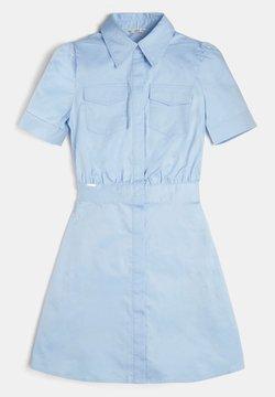Guess - Blusenkleid - blau