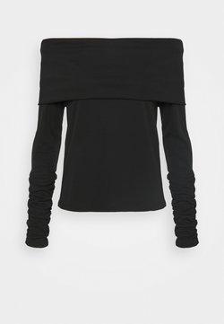BLANCHE - CARISI OFF SHOULDER - Langarmshirt - black