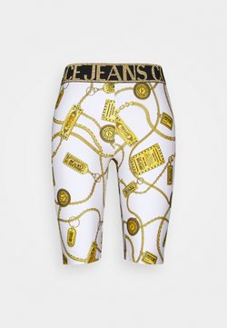 Versace Jeans Couture - BIKER - Shorts - white