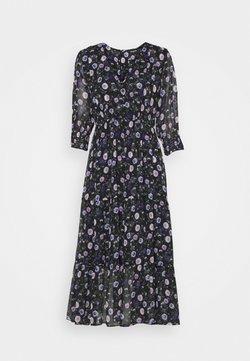 The Kooples - DRESS - Day dress - black/purple